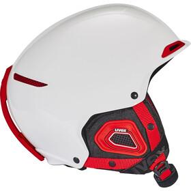 UVEX Jakk+ Octo+ Casque, white-red